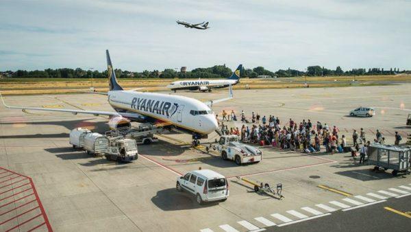 Авиакомпания Ryanair отменила в январе все рейсы из Одессы