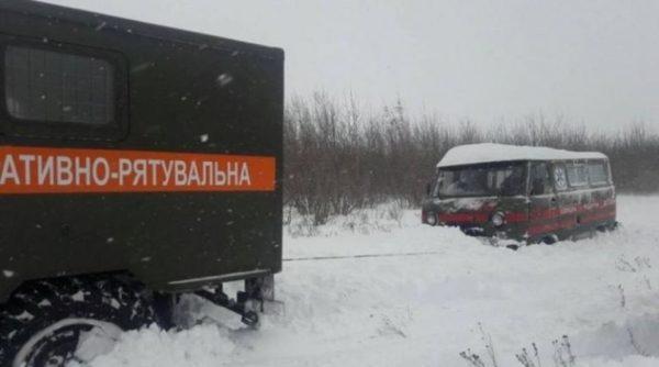 СМИ сообщили о смерти новорожденного в Одесской области из-за снежных заносов на дорогах. В ОГА это опровергают
