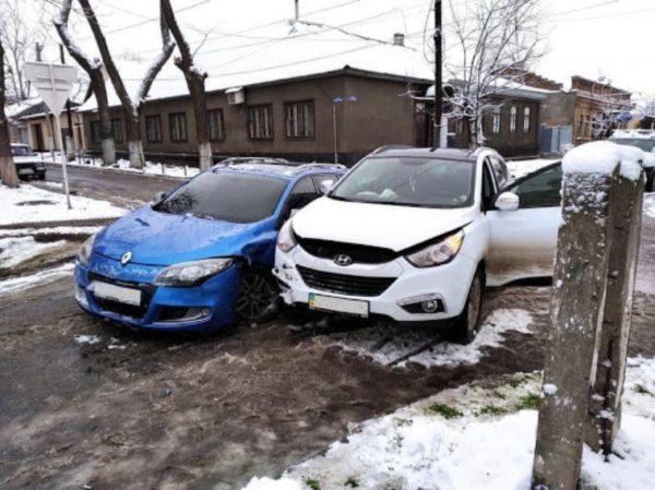 В Измаиле на улице Кутузова снова ДТП