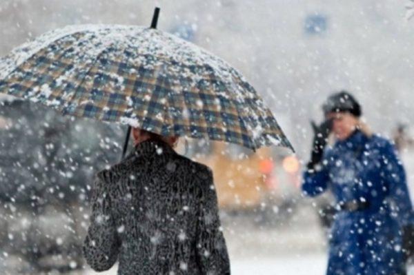 В связи с выходом южного циклона в Одесской области вновь ожидается осложнение погодных условий