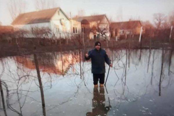 В Килии таяние снега привело к критическому поднятию подпочвенных вод