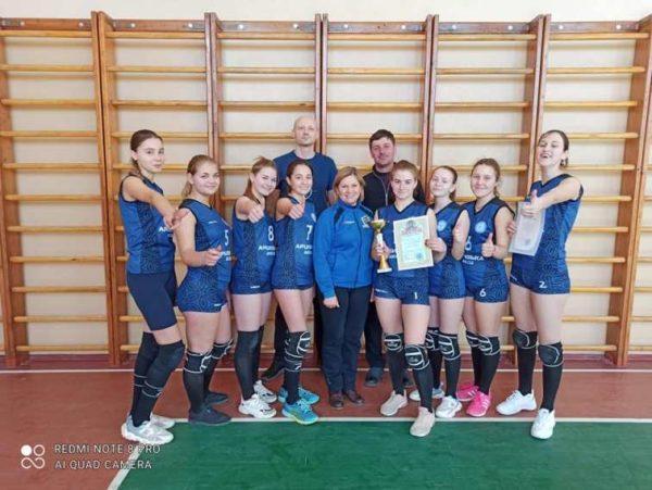 Арцизская волейбольная команда стала лучшей в областном турнире