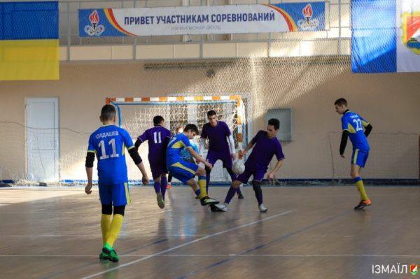 В Измаильском центре досуга «Портовик» прошли игры очередного этапа Чемпионата области по футзалу