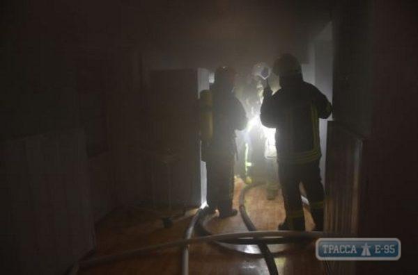 Пожар в Одесском роддоме: Роженицы и младенцы были эвакуированы