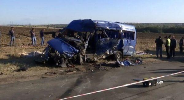 Суд вынес приговор в деле о ДТП под Одессой, в котором погибли водитель и 8 пассажиров маршрутки