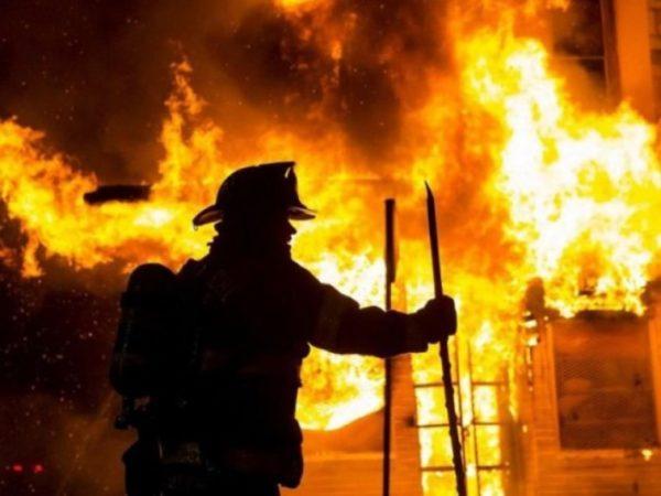 Сегодня ночью в Измаиле произошел пожар в жилом доме