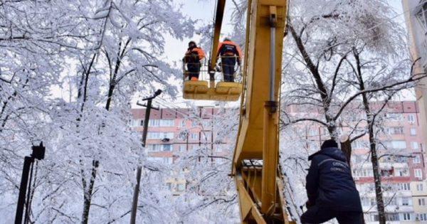 В Одесской области из-за ухудшения погодных условий обесточенными оказались около сотни населенных пунктов