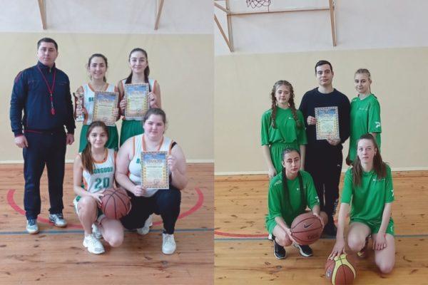 В Арцизской громаде определили лучшую школьную баскетбольную команду