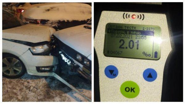 В Одессе произошло масштабное ДТП, в котором пьяный водитель разбил сразу 7 машин