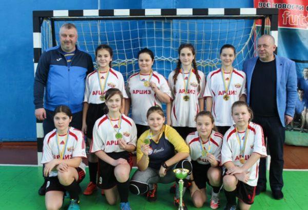 Арцизская девичья футбольная команда будет участвовать в финальной части чемпионата Украины по футзалу
