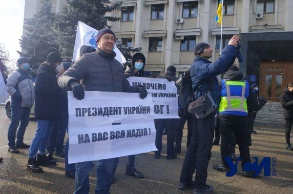 На моряков, вышедших на митинг против коррупции, составили протокол за нарушение карантина