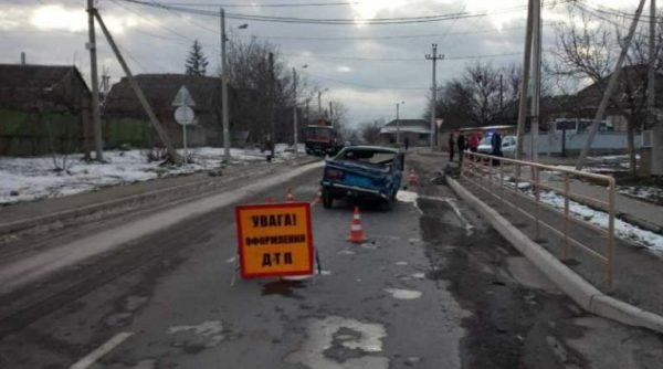 В Измаиле водитель в нетрезвом состоянии перевернул автомобиль
