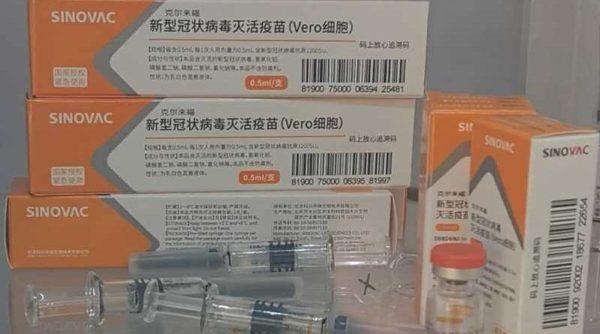 В Украину отправлена первая партия китайской вакцины против коронавируса