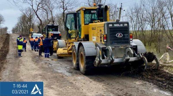 В Бессарабии стартовал ремонт автодороги, соединяющей два КПП с Молдовой