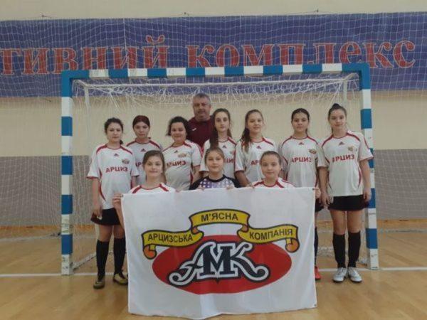 Девичья футбольная команда из Арциза показала отличный результат в Чемпионате Украины  по футзалу