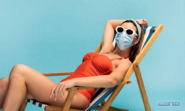 Правительство обязало жителей Одесской области носить маски даже на пляжах