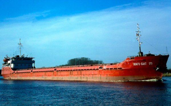В Черном море затонуло судно с украинскими моряками