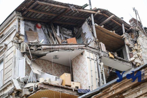 Одесский горсовет выделит полмиллиона на восстановление рухнувшего дома на Нежинской