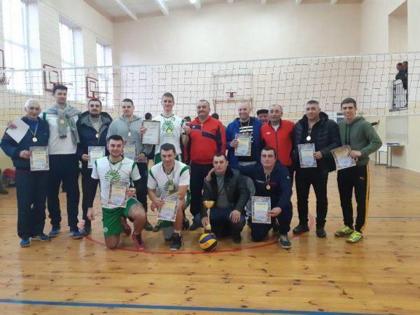 В селе Виноградовка прошли финальные соревнования по волейболу среди коллективов Арцизской громады