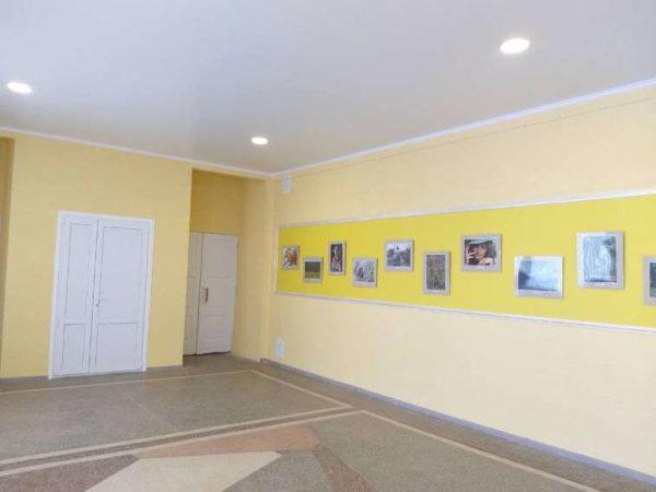 В Арцизском доме культуры отремонтировали фойе
