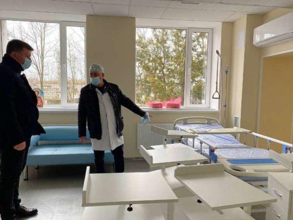 В Арцизской центральной опорной больнице завершается ремонт приемного отделения