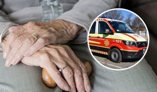 В Одессе женщина подожгла Пенсионный фонд из-за мизерной пенсии
