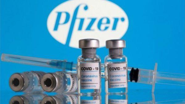 117 тысяч доз вакцины Pfizer прибыли в Украину
