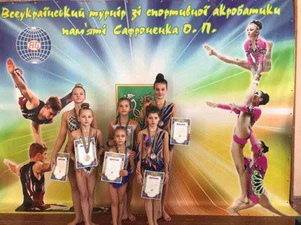 Воспитанники Арцизской ДЮСШ стали призерами Всеукраинского турнира по спортивной акробатике