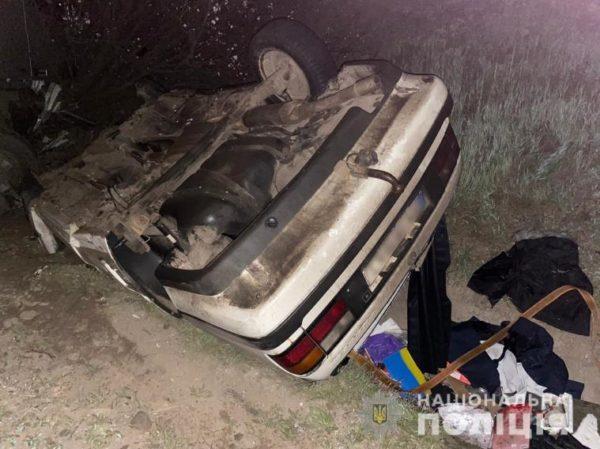 В Одесской области произошло ДТП при участии фуры и легковой машины(есть пострадавшие)