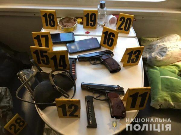 В поезде №126 по маршруту Константиновка – Киев произошло стрельба