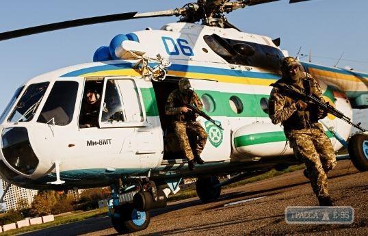 Пограничники применили авиацию для патрулирования в Одесской области