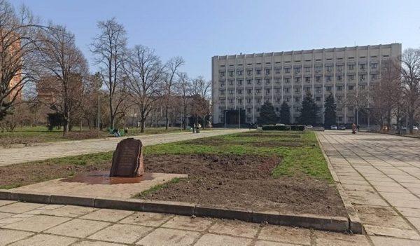 В Одессе неизвестные надругались над памятным знаком погибшим участникам АТО