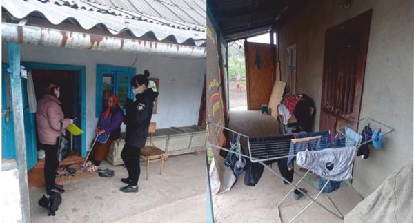 В Арцизе социальные службы помогли детям из неблагополучной семьи