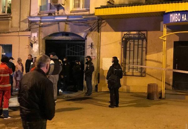 В Одессе обрушился дом в следствии мощного взрыва газа