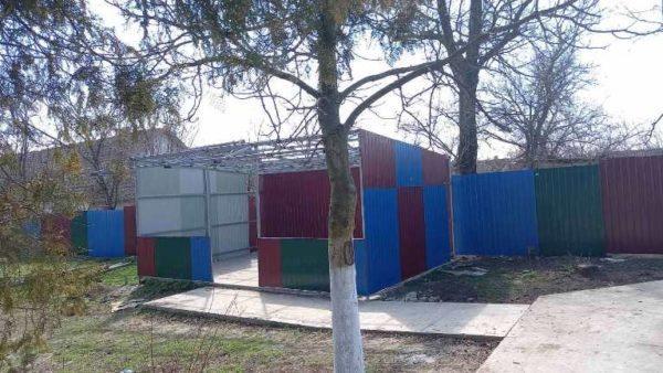 В селе Арцизской громады продолжают работы по благоустройству детского сада