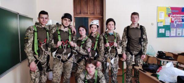 Команда Арцизской школы №5 принимает  участие в областном этапе Кубка Украины «Джура» по пешеходному туризму
