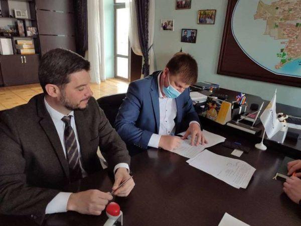 Глава Арцизской громады подписал два важных меморандума