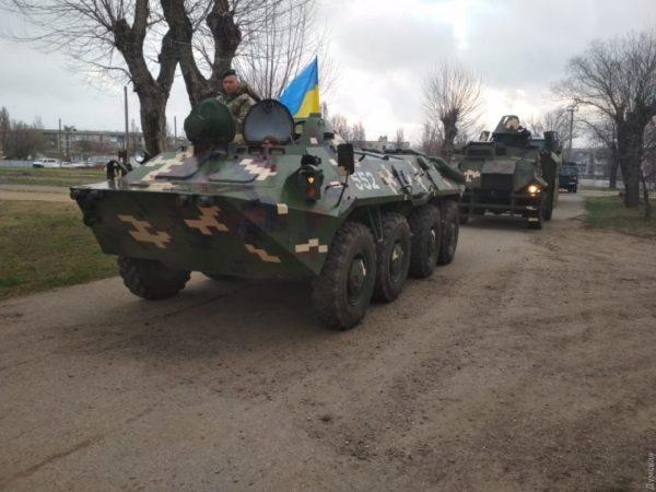 Пограничники проводят учения на участке украинско-молдавской границы в Одесской области — с тяжелой техникой