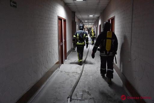 В санатории на Куяльницком лимане ночью вспыхнул пожар
