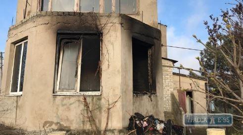 В Одесской области при пожаре погибла пенсионерка
