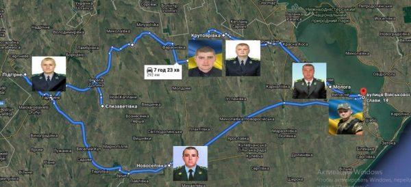 Аккерманские пограничники совершили 300-километровый «Тур памяти»
