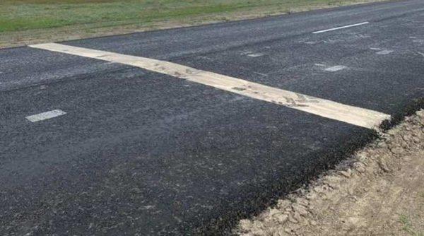 Автогонщики испортили отремонтированную дорогу Т-16-07 «Измаил-Килия-Вилково»