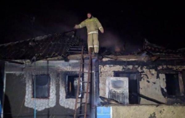 Два маленьких мальчика пострадали при пожаре в Одесской области