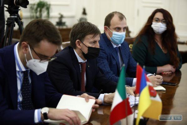 Италия намерена открыть культурный центр в Одессе