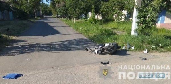 В Одесской области два мальчика разбились на мопеде
