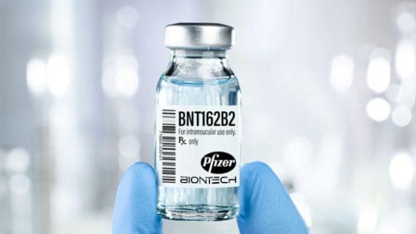 Еще 117 тысяч доз вакцины Pfizer прибыли в Украину
