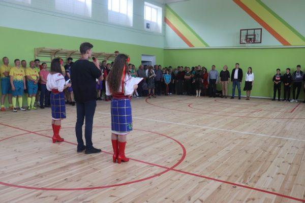 В селе Холмское Арцизской громады открыли два спортивных объекта