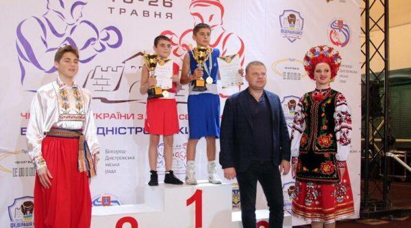 Сборная Одесской области заняла первое место на чемпионате по боксу среди юношей