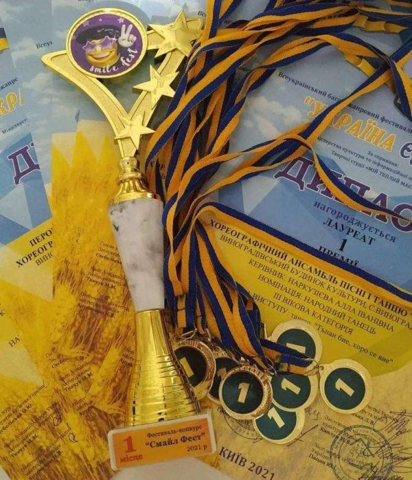 «Народный» ансамбль песни и танца «Гердан» в очередной раз занял призовое место