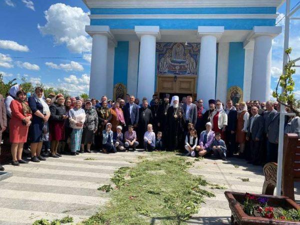 Митрополит Агафангел посетил Арцизскую громаду